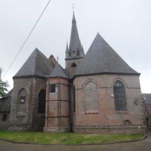 BOUSSU - Église Saint-Géry & chapelle des seigneurs de Boussu